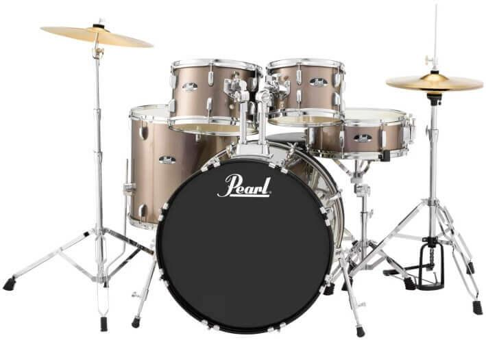 Pearl Roadshow Complete 5-Piece Drum Set (RS525SC)
